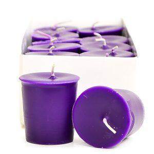 Crimson candles Votive candles
